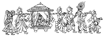 Indian Wedding Clipart Fonts - Indian Wedding PNG Fonts