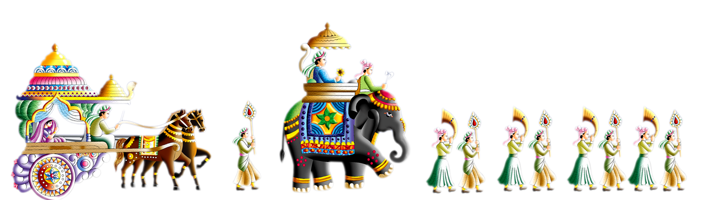 Indian Wedding Clipart 32 - Indian Wedding PNG Vector