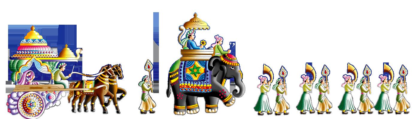 Indian Wedding PNG Vector - 56574