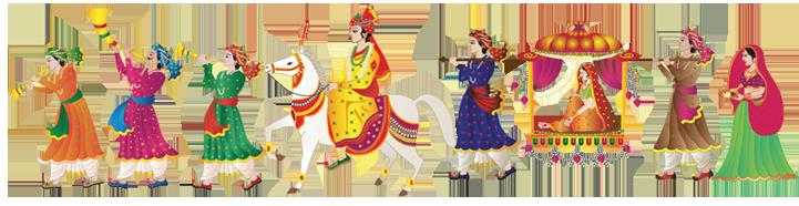 Indian Wedding PNG Vector - 56567