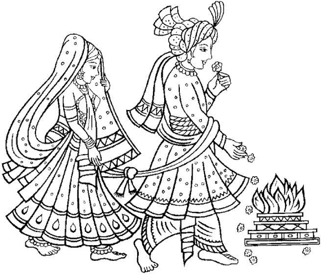 Indian Wedding PNG Vector - 56579