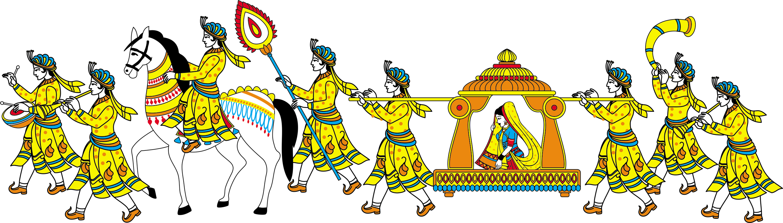 Indian Wedding PNG Vector - 56565