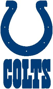 Indianapolis Colts Crochet Graphghan Pattern (Chart/Graph AND Row-by-Row  Written - Indianapolis Colts Logo Vector PNG