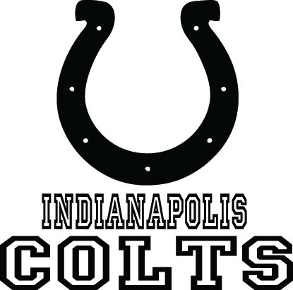Indianapolis Colts Football Logo u0026 Name Custom by VinylGrafix - Indianapolis Colts Logo Vector PNG