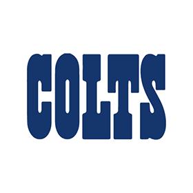 Indianapolis Colts Logo Vector PNG - 37647