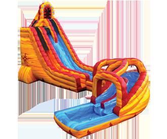 27ft_lavatwist_waterslide_wpool.png 27ft_lavatwist_waterslide_wpool.png - Inflatable Water Slide PNG