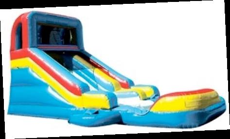 Big Kahuna Waterslide - Inflatable Water Slide PNG