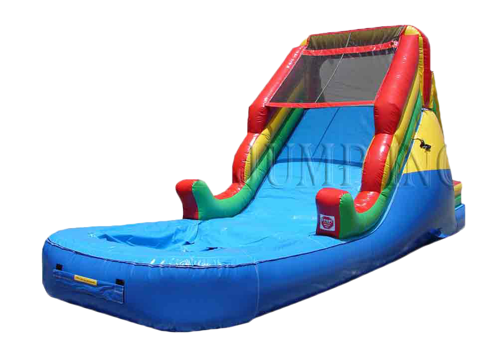 Circus Dry Slide - Inflatable Water Slide PNG