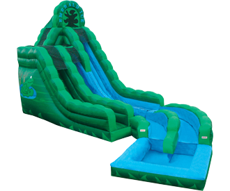 emerald_ice_water_slide2.png emerald_ice_water_slide2.png - Inflatable Water Slide PNG