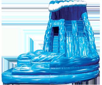 monster_wave_waterslide.png monster_wave_waterslide.png - Inflatable Water Slide PNG
