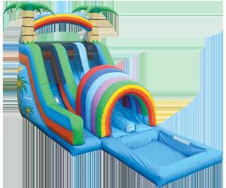 tropical_rush_waterslide.png tropical_rush_waterslide.png - Inflatable Water Slide PNG