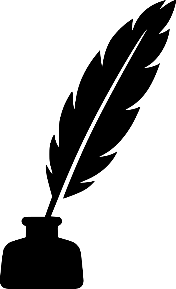 Ink Bottle And Feather PNG - 170334