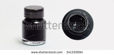 Ink Bottle PNG Black And White - 69993