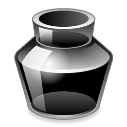 Ink Bottle PNG Black And White - 69978