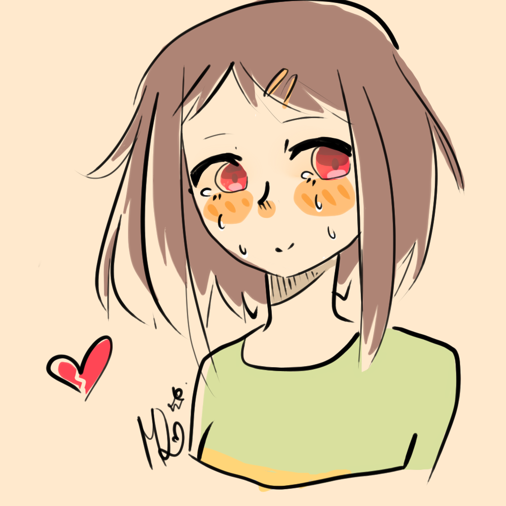 . PlusPng.com Still an Innocent Child (Chara) by MangoDoodles - Innocent Child PNG