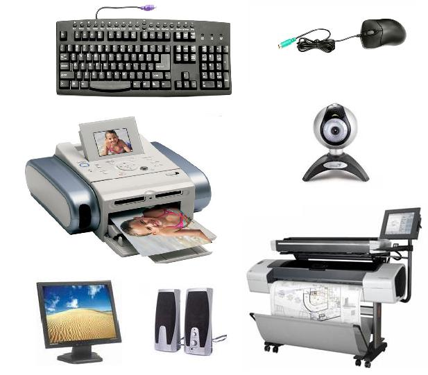 Below we discuss the variety of peripheral devices used for computer input  and output. - Input And Output Devices PNG