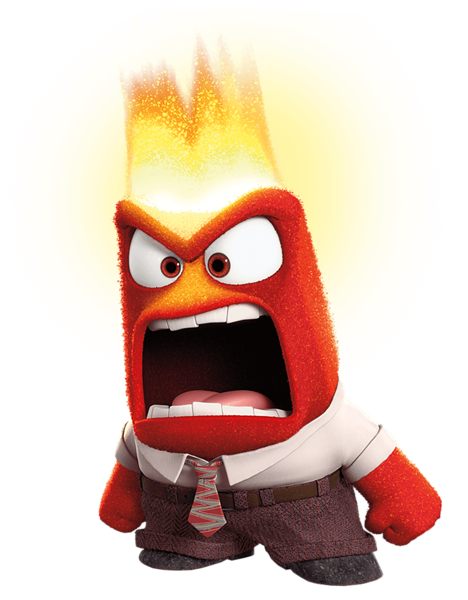 Inside Out Anger PNG