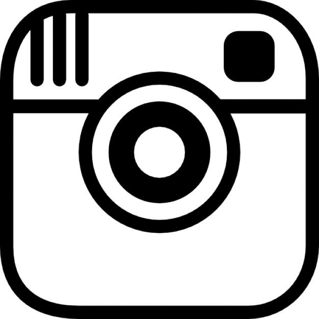 Instagram Photo Camera Logo Outline - Instagram Logo Eps PNG