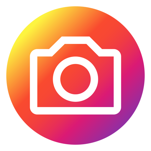 Instagram photo button Transparent PNG - Instagram PNG