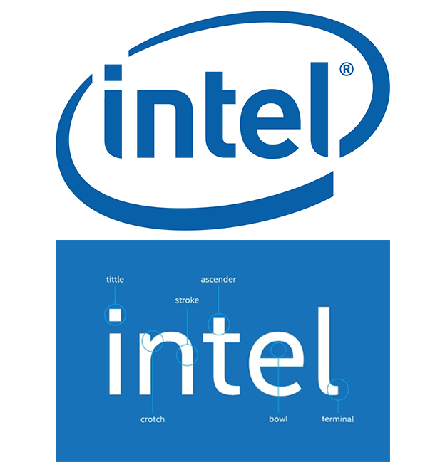 Graphics intel logo color - Intel Logotype PNG