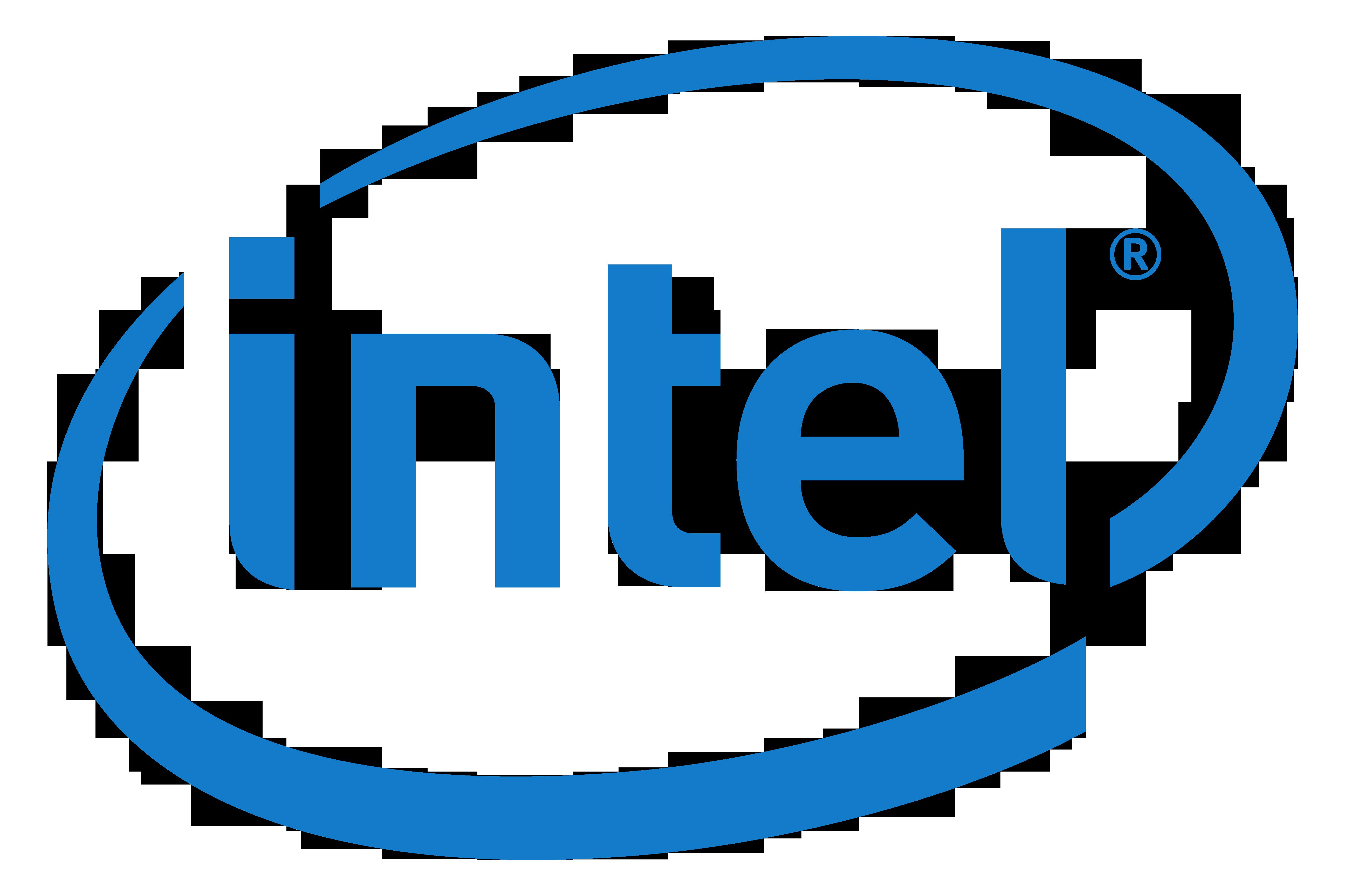 Intel Logo PNG PlusPng.com  - Intel Logotype PNG
