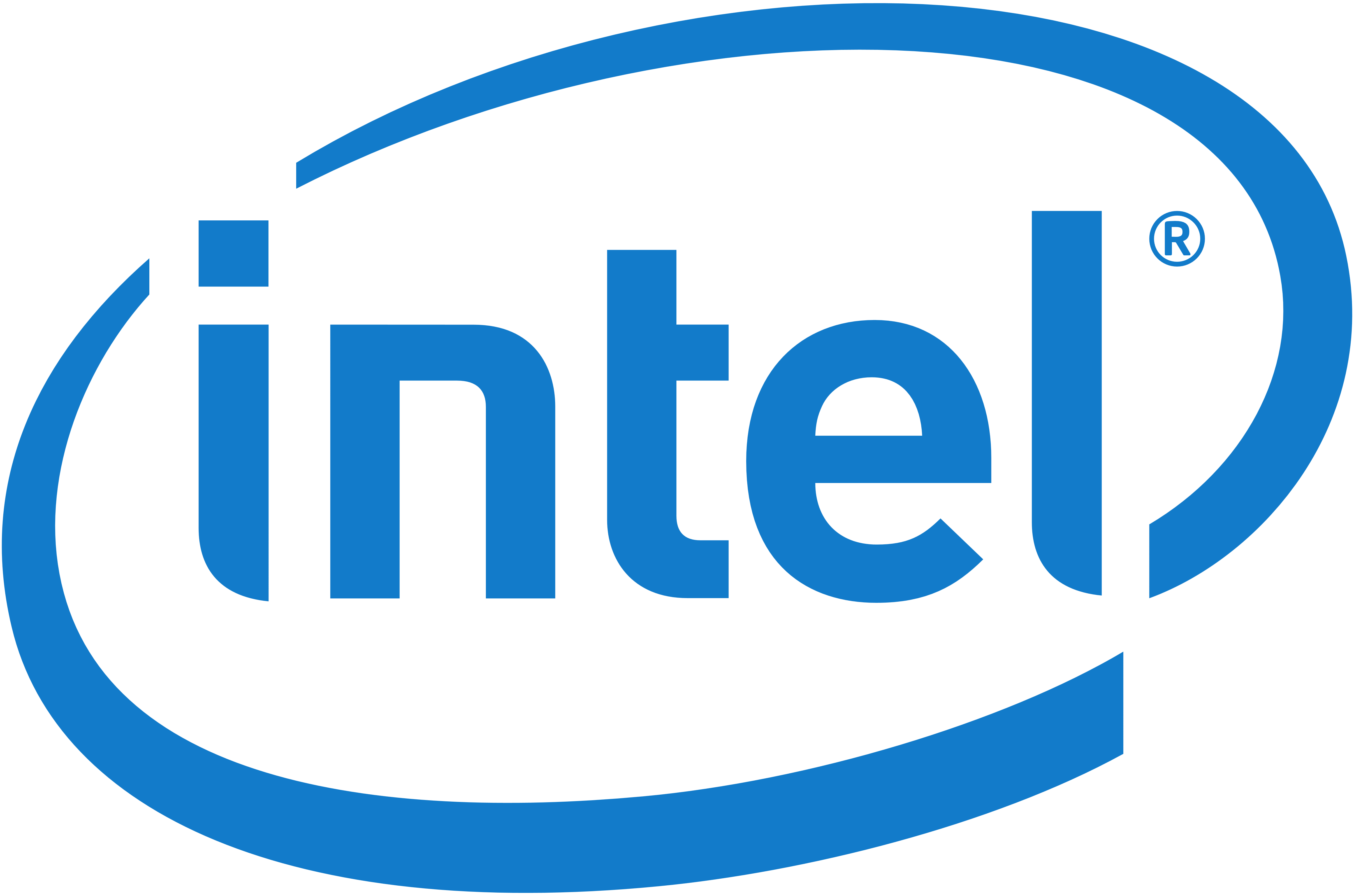 Intel logo, png, transparent, huge - Intel Logotype PNG