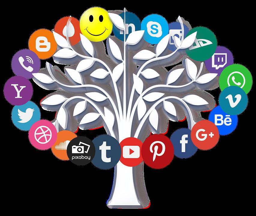 Online, Internet, Icon, Tree, Leaves, Symbols, Www, Web - Internet PNG