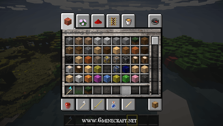 Life HD Resource Pack 1.13.1/1.13/1.12.2/1.11.2/1.10.2 For Minecraft - Inventory PNG HD