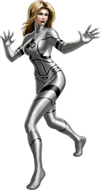 Future Foundation Invisible Woman Portrait Art.png - Invisible Woman PNG