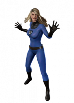 Invisible woman classic.png PlusPng.com  - Invisible Woman PNG
