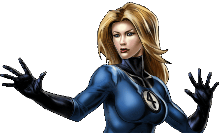 Invisible Woman Dialogue 1 Right.png - Invisible Woman PNG