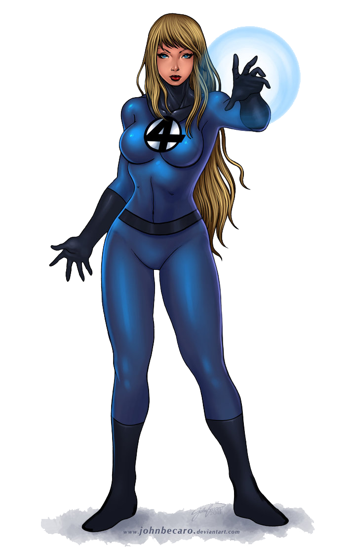 Invisible Woman PNG File - Invisible Woman PNG