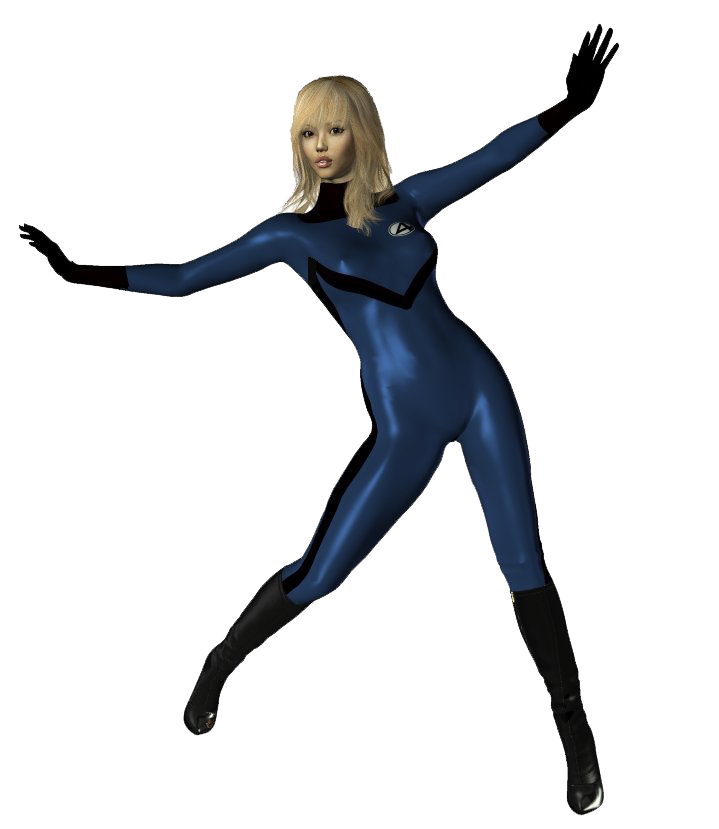 Invisible Woman PNG Transparent Image - Invisible Woman PNG
