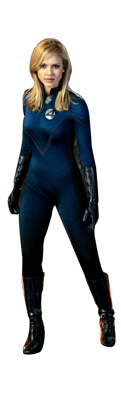 Invisible Woman Transparent PNG - Invisible Woman PNG