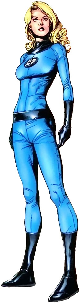 The Invisible Woman, Susan Richards of the Fantastic Four. - Invisible Woman PNG