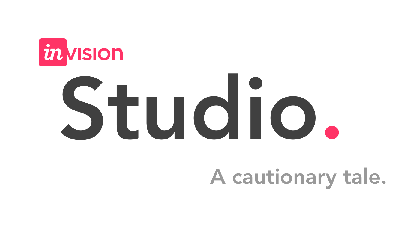 Invision Studio: A Cautionary Tale - The Startup - Medium - Invision Logo PNG