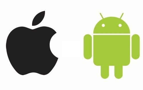 Android-vs-iOS - Ios Logo Vector PNG