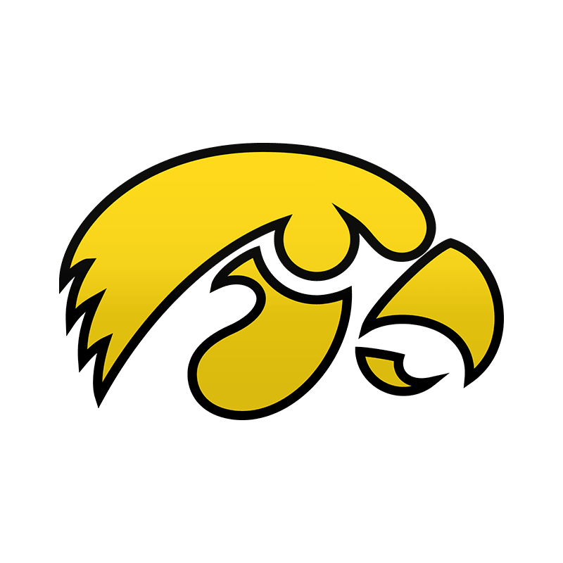 Game 4: @ Iowa Hawkeyes. u201c - Iowa Hawkeye PNG Free
