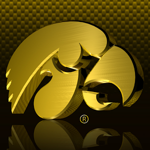 Gold Iowa Hawkeyes Wallpaper Simple Yellow Beehive Decoration Reflection  Personalized Sample - Iowa Hawkeye PNG Free