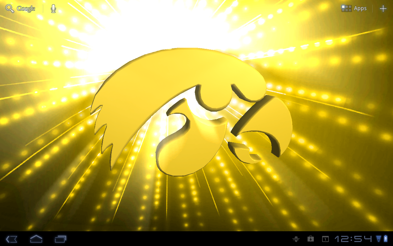 Iowa Hawkeyes Live WPs- screenshot - Iowa Hawkeye PNG Free