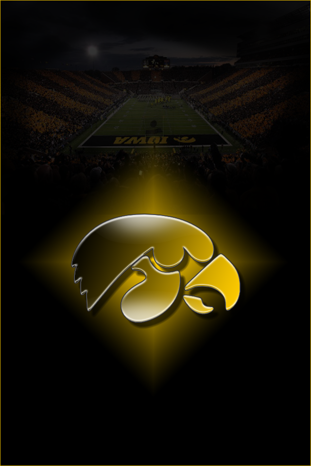 Iowa Hawkeyes Wallpaper Hawkeyes iphone wall by - Iowa Hawkeye PNG Free