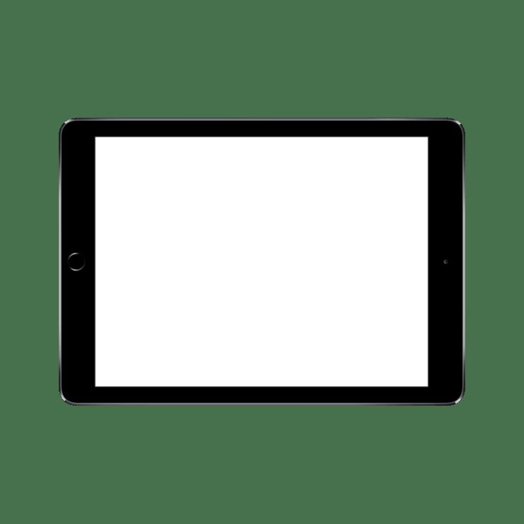 ipad psd ipad template PlusPng.com  - Ipad PNG