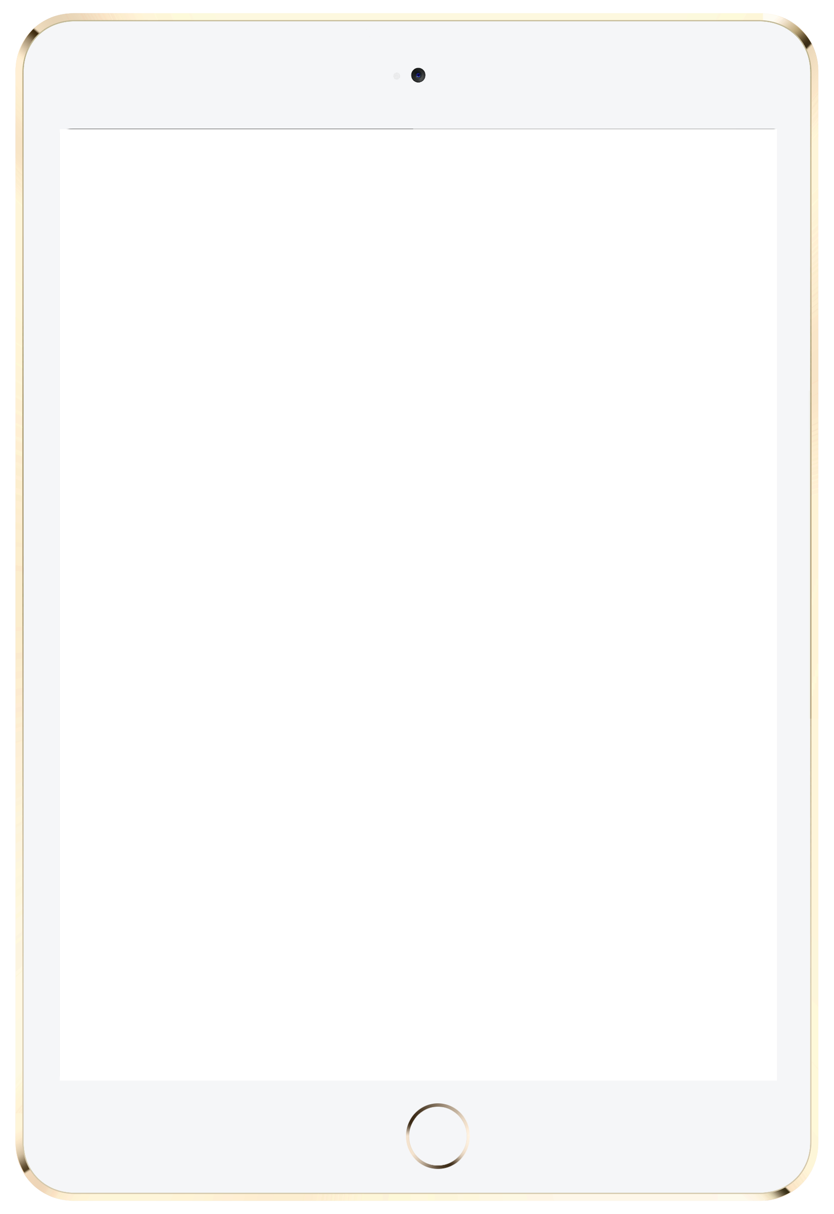 IPad Tablet PNG Transparent Image - Ipad PNG