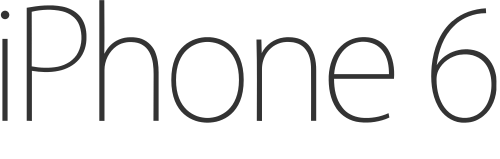 Iphone 6s Logo PNG - 38757