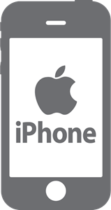 Apple iphone Logo Vector - Iphone 6s Logo Vector PNG