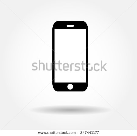 Flat black smartphone Icon Vector illustration EPS10,jpg,iphon,jpeg,iphone  logo - Iphone 6s Logo Vector PNG