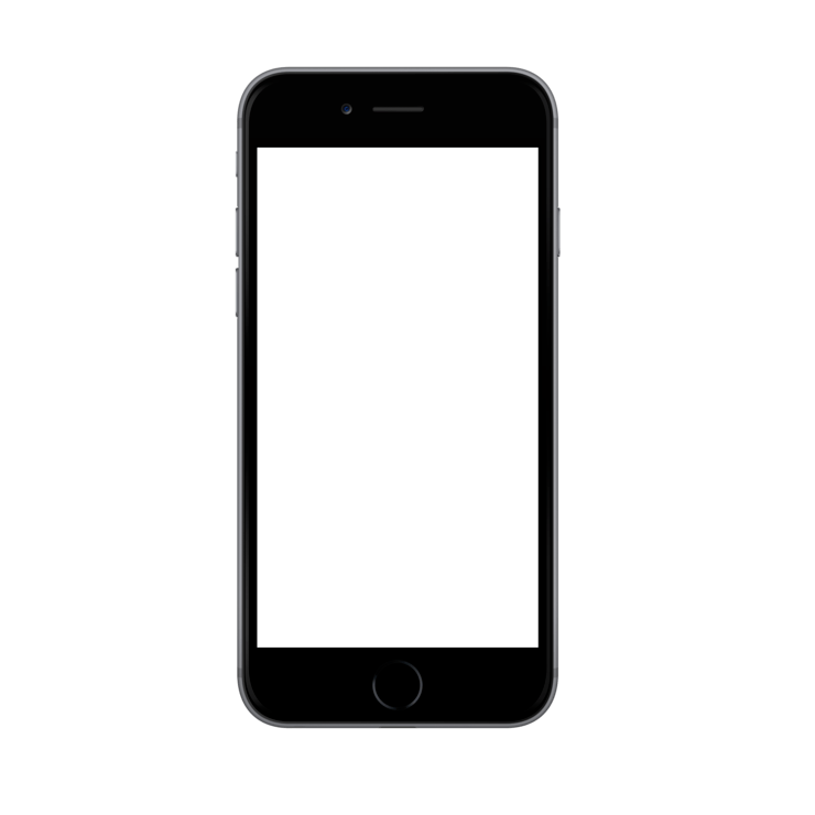 iphone 6 mock up PlusPng.com  - Iphone 6s PNG