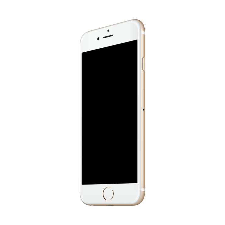 . PlusPng.com template mockup iphone 6 - Iphone 6s PNG