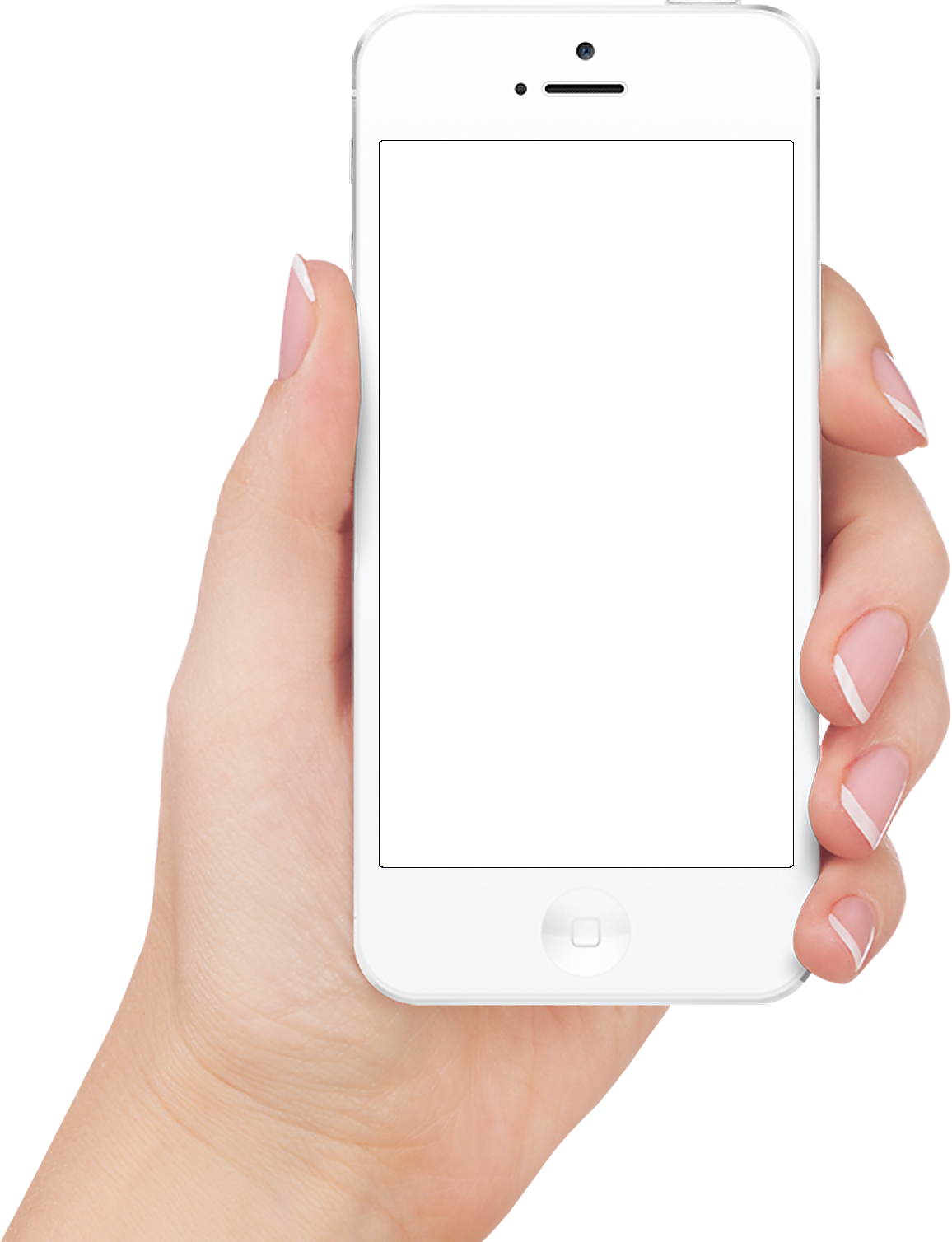 Apple iphone in hand transparent PNG image - Iphone PNG