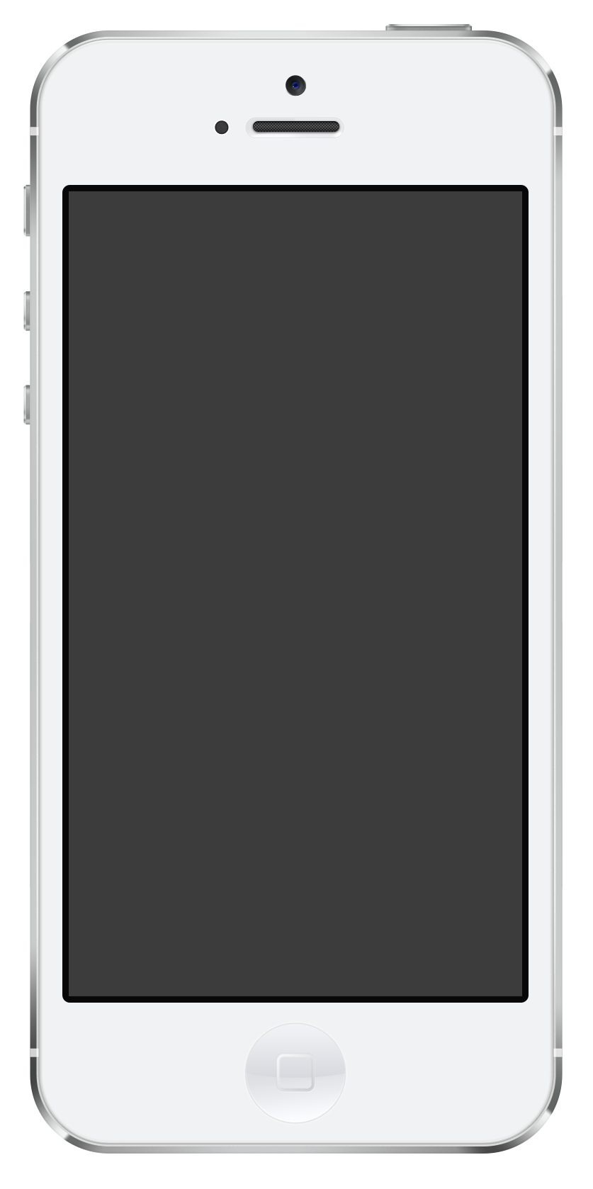 Iphone PNG Black And White - 52193